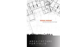 ARCHITECT PORTFOLIO (2018)(donia essam)