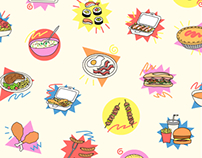 iMessage Sticker Pack- Dinner Suggestions