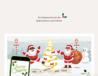 pAppermint Weihnachtskarte / Christmas Card 2015