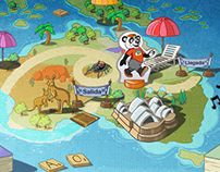 Carrera Maizoritos - Digital Board Game