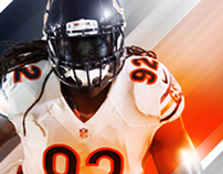 Chicago Bears 2015 Web and Social Media Imagery