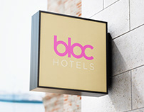 bloc HOTELS - Proposed branding
