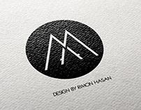 MA Letter Logo Design