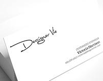 Designer Vie brand identity