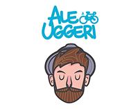 AleUggeri Logo