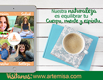 Propuesta gráfica Artemisa.