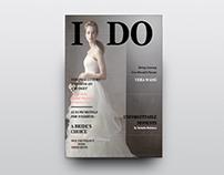 I DO | Wedding Magazine Design