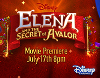 DISNEY CHANNEL - Elena Of Avalor.
