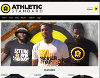 Athletic Standard Website Design