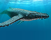 Artificial Life 1.0. Oceans -  Humpback whale.