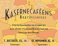 POSTER DESIGN - Kasernecaféens Brætspilshygge