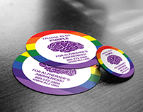 Alzheimer's Association of STL Pride Fest Stickers
