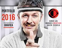 Tríptico 2016: GRÁFICA - La Escuelita de Creativos