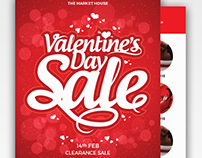 Valentine's Day Promotional Flyer