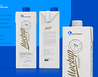 MILK PACKAGING POSTER A