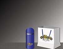 CLASSIC CAR SHOW LOGO MOCKUP
