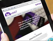 Internet & Network Technology marketing website