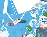 Cover illustration- Children's Literature collection