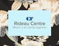 Cadillac Fairview - Rideau campaign