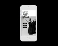 New York City Ballet: Concept, content organization