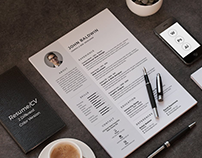 50+ Best Clean & Useful CV / Resume Templates