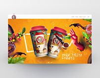 Mikel Coffee web siteRedesign