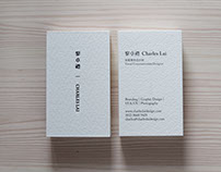 Name Card | Charles Lai
