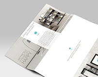 Brochure design for Imagin interior design firm.
