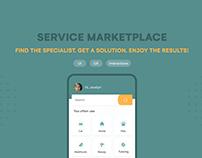 Service Marketplace App