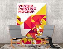 Poster Painting Mockup Vol. 7