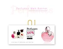 Perfume web banners