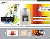 Delta Cafés • Redesign de site
