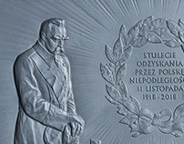 Relief. 100 Years of Poland Regaining Independence.