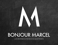 Charte graphique - Bonjour Marcel