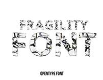 Fragility Font