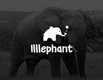 Illlephant Logo + Banner