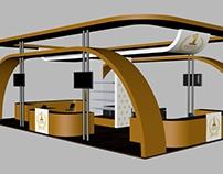 تصميم بوث شركة المطاحن الأولى