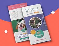 Pet Life Club // Tri-folder