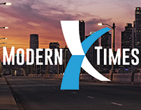 Modern Times, Inc. - Brand Identity, Logo, Website, etc