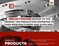 Merlok Pipelines Website