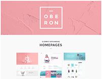 Oberon - An Alluring Portfolio Theme for Agencies
