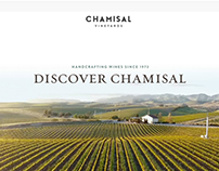 Chamisal Vineyards Website Design