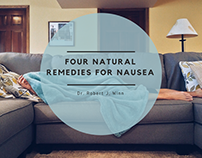 Robert J Winn | Four Natural Remedies for Nausea
