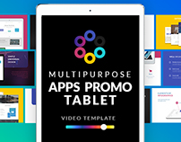 Multipurpose Apps Promo for Tablet | After Effects