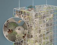 Biohut Illustration for the National Aquarium
