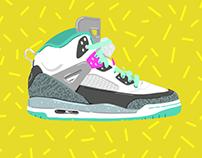 Nike Party, 80's Air Jordans