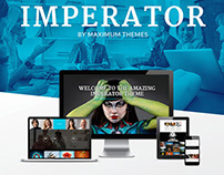 IMPERATOR - WordPress Theme Landingpage long OnePage