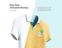 Polo Shirt Animated Mockup