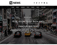 Web Template News