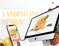 Landing Page for Fruit Family